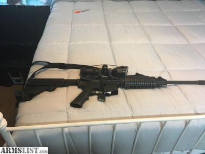 For Sale/Trade: DTMS AR-15, .223 (5.56)