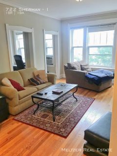 AMAZING Location! Huge 1 Bed Apartment Near El and Metra Stop. AVAIL 8/1
