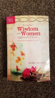 Brand new the one-year women's devotional. Asking $6
