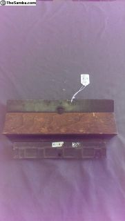 911 and 912 Glove Box Door wood strip