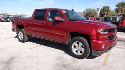 2018 Chevrolet Silverado 1500 LT (Cajun Red Tintcoat)