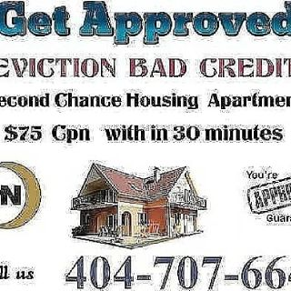 Second Chance Housing $75 CPN / SCN 404-707-6645