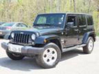 2015 Jeep Wrangler Unlimited Black, 47K miles