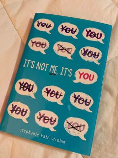 It's not me, it's you teen book