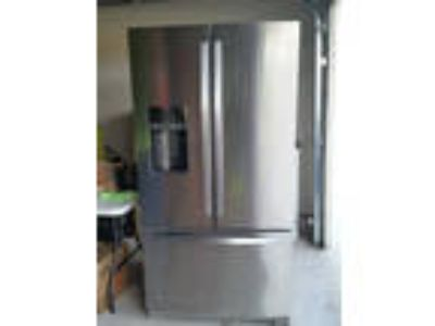 "Whirlpool 36"" French Door 29 CF refrigerator....Stainless"