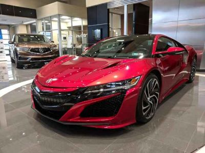 New 2019 Acura NSX Coupe