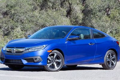 2017 Honda Civic Civic Coupe (Silver)