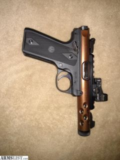 For Sale/Trade: Ruger mark iv lite with Burris fast fire 3 and tactical solutions holster