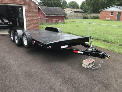 2019 Sure-Trac Steel Deck Car Hauler
