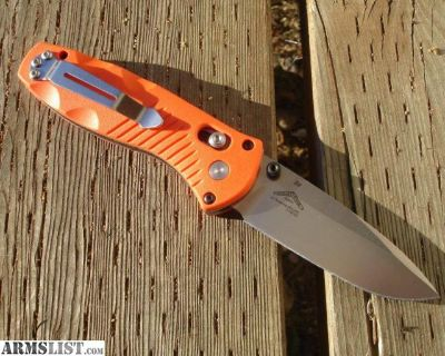 For Sale: Benchmade Mini Barrage Orange