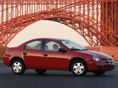 2005 Dodge Neon SE (Flame Red Clearcoat)