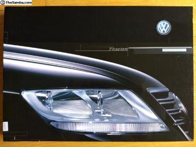 2002 Volkswagen Phaeton Press Kit