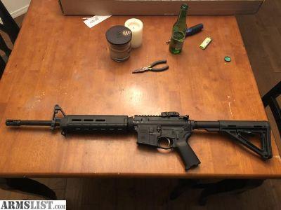 For Sale: AR-15 5.56 magpul
