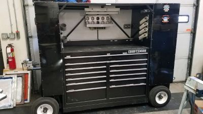 Tool Box Craftsman Cart