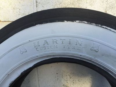 Buy MARTIN WHITEWALL VINTAGE TIRE MARTIN CUSTOM TYRE motorcycle in Medina, Ohio, United States, for US $185.00