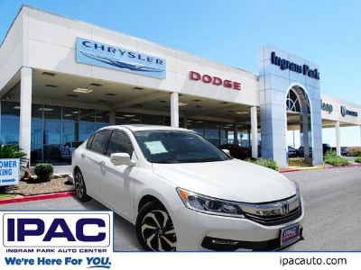 2016 Honda ACCORD SEDAN EX-L (White Orchid)