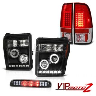 Buy 2011-2016 F350 6.7L Smokey 3RD Brake Light Red Taillights Projector Headlights motorcycle in Walnut, California, United States, for US $487.32