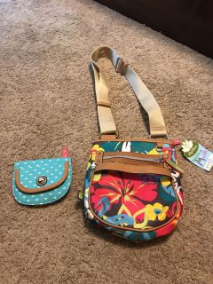 NWT cross body with matching wallet