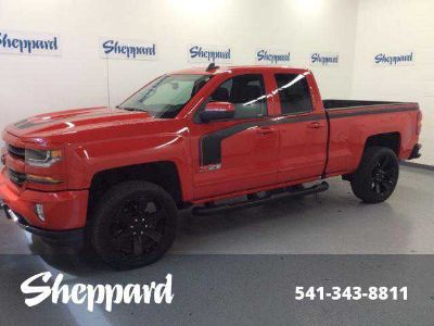 Used 2017 Chevrolet Silverado 1500 4WD Double Cab 143.5