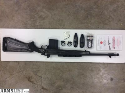For Sale: Ruger Gunsite Scout (LH)
