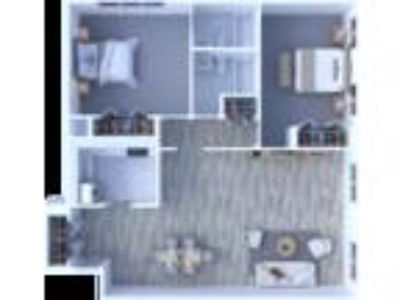 Maple Grove Apartments - Two BR Floor Plan B2