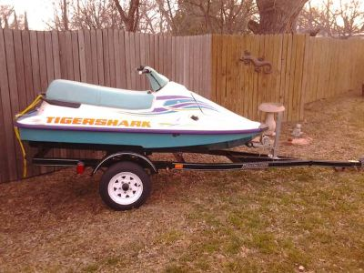 95 Arctic Cat Tigershark Jet Ski with Roadmaster Trailer (San Angelo)