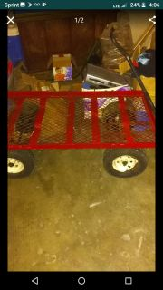 Red wagon / carrier