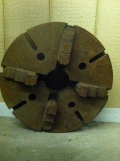 18 4 jaw chuck for metal lathe