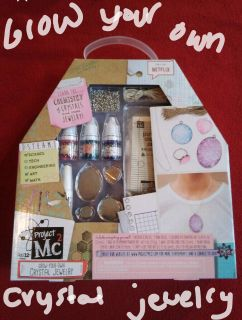 Project MC2 grow your own crystal jewelry project set