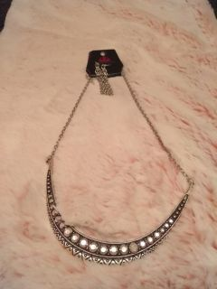 Paparazzi necklace AND earring set. New with tags. $5 firm also lead and nickel free