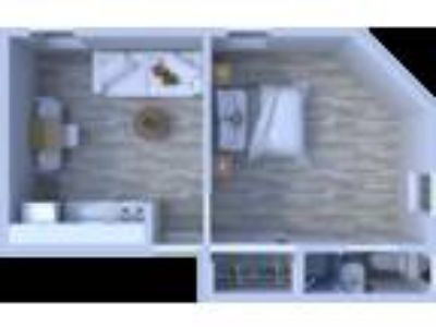 Beachwalk Apartments - One BR Floor Plan A3