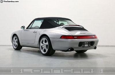 95-98 Porsche 993, 911 Cabriolet Convertible Top