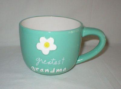 """Greatest Grandma"" Large Coffee Mug by Sandra Magsamen"