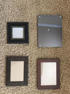 picture frames 3x3, 4x6, 5x7