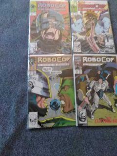 RoboCop comics $2 each