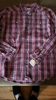 Mossimo supply co. Plaid button down size xl~ new