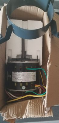 1/3 HP Blower Motor for Heat & Air Unit New in box.