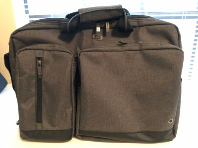 Solo convertible laptop & briefcase backpack