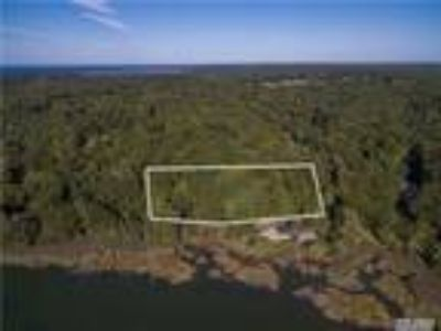 Nissequogue Real Estate For Sale - Land 2.08 Acres - Waterfront - Waterview