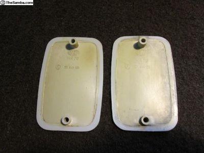 Original Hella Side Reflector Marker Housing Plate