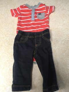 Carter s 6 month outfit
