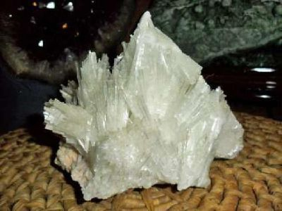 Exceptional, Gorgeous and Beautiful Large Rare Mesolite on Stilbite