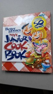 Better homes New Junior Cook Book spiral 128 pages