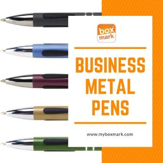 metal pens with company logo          | Boxmark