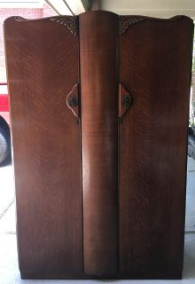 Antique Armoire by BE Furniture 1950
