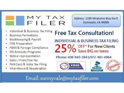 TAX PREPARATION SERVICES AND CORPORATE SERVICES