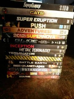 SCI FI LOT OF 16 dvds