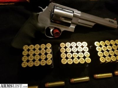 For Sale: S&W 500 with ammo