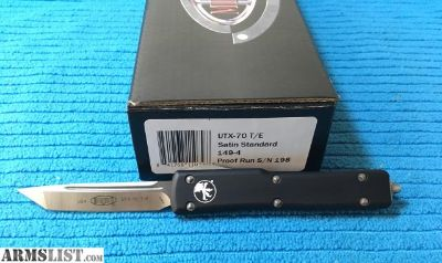 For Sale: Microtech UTX-70 Proof Run Rare