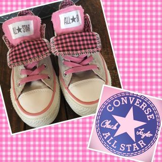 Converse Size 5 Double Tongue Limited Edition